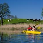 Kayak en mazurie pologne