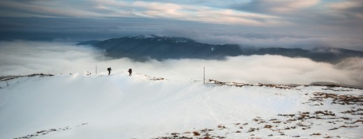 Snowshoeing in the Bieszczady Mountains